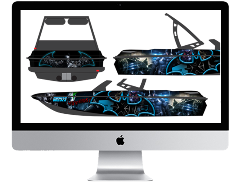 Experienced Boat Wrap Design