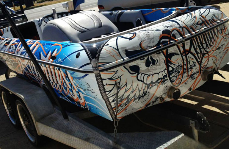 About Boat Wraps