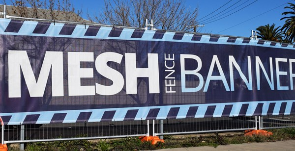 Printed Mesh Fence Banners Australia Wide Delivery