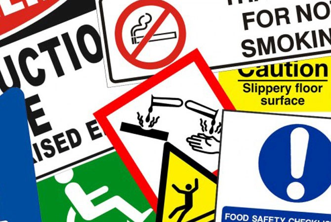 Safety Site Signs