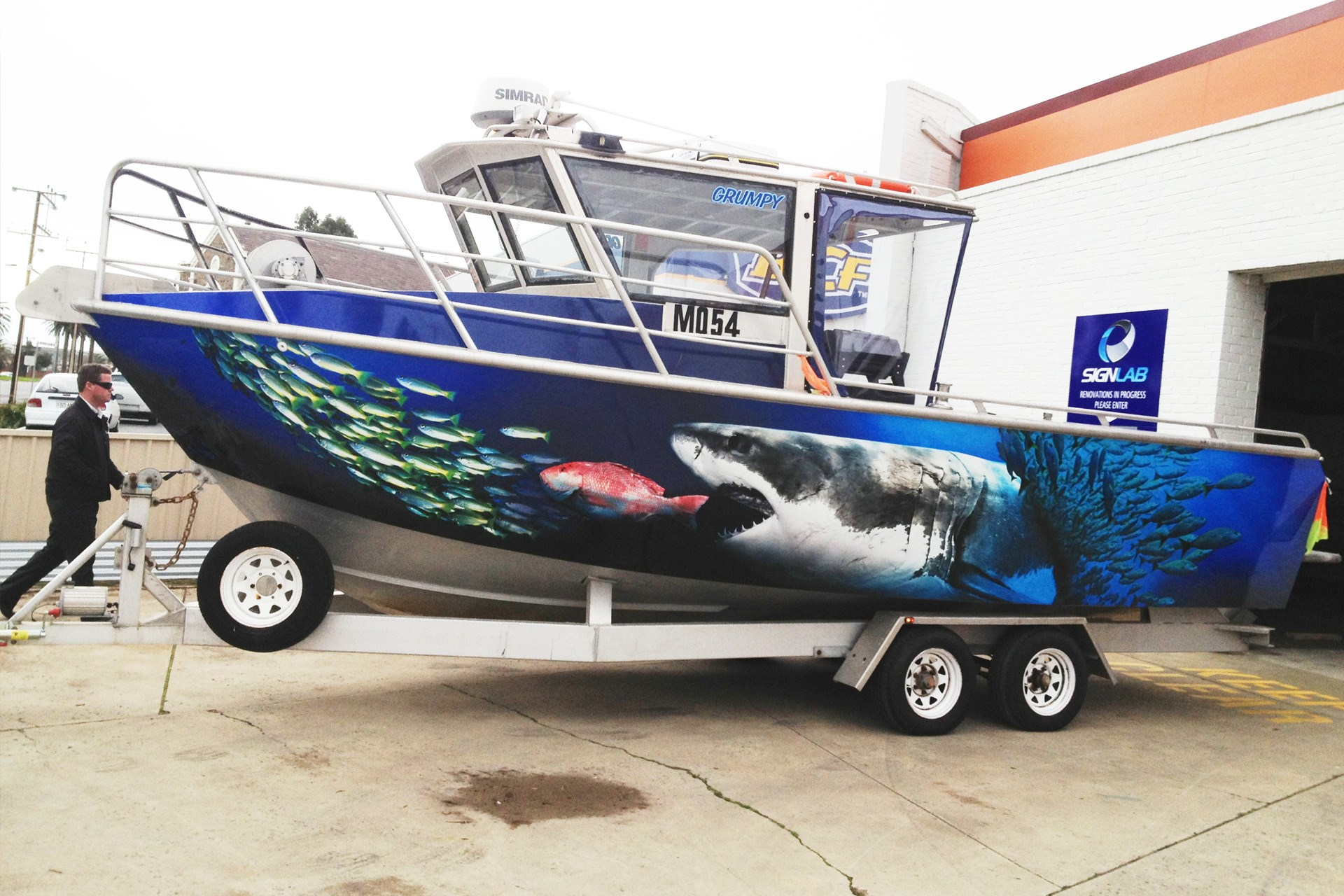 Any Thoughts On Vinyl Wraps For Boats Bloodydecks
