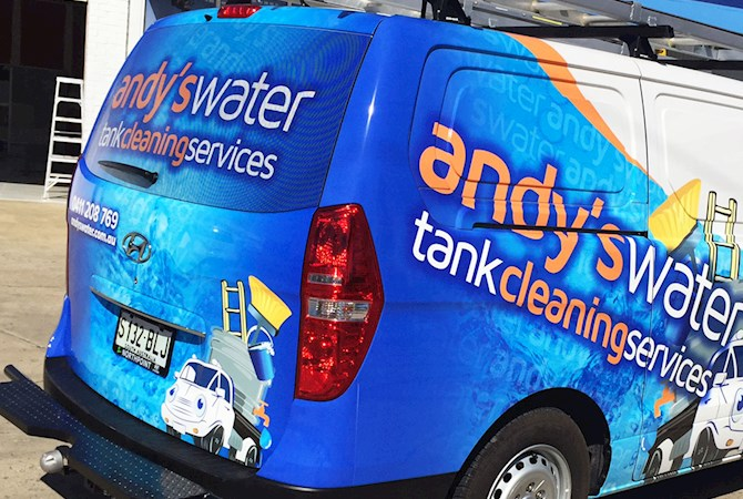 Van Wraps and Graphics