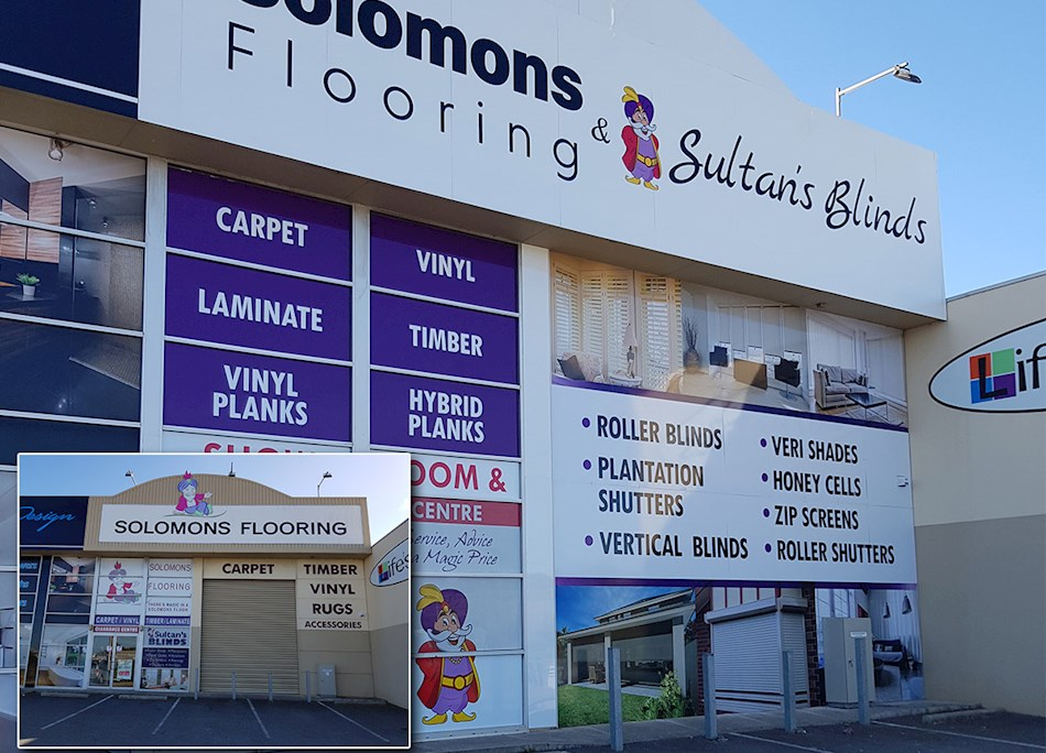 Shop Front Signs   Building Warehouse Signs   Signlab Signs and